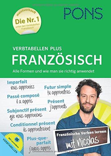 PONS Verbtabellen Plus Französisch – Mit persönlichem Lehrer, Lernvideos und Online-Übungen