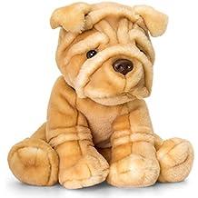 Lashuma Plüschtier Hund Signature Puppies Sharpei, Kuscheltier sitzend ca. 35 cm