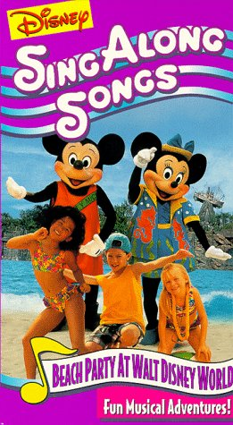 Disney Sing-Along-Songs: Beach Party at Walt Disney World [VHS]
