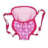 KESOTO Doll Travel Backpack Carrier Bolso para 18 Pulgadas Accesorio Rosa - Rosa Mochilla