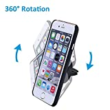 Car Mount, Mpow Grip Magic Mobile Phone Cradle Air Vent Magnetic Phone Holder Universal Car Mount for iPhone 7/6/6 Plus/5 Nexus 7 Huawei P9 LG Sony Samsung S6/S5 Note 5/4/3 and other Andriod Cellphones(Black) Bild 3