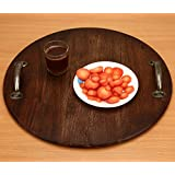 M&M Chopping Board 18 Inches Serving Tray With Handle MMD588