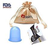 Edealing 1PCS petites tasses corps anti-cellulite vide Massage Ventouses Coupes soins de santé Silicone