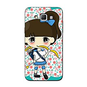 GIRL WITH A BOW BACK COVER FOR SAMSUNG GRAND MAX