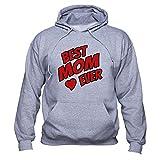 Die besten Mom Ever Sweatshirts - EUGINE DREAM Best Mom Ever sweatshirt Mother's Day Bewertungen