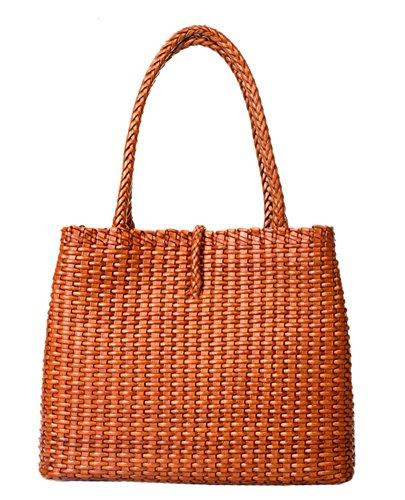 Insun - Borse a spalla donna arancione