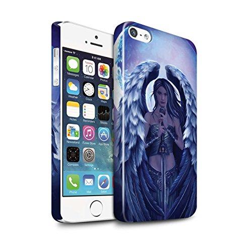 Officiel Elena Dudina Coque / Clipser Brillant Etui pour Apple iPhone 5/5S / Pack 9pcs Design / Super Héroïne Collection Ange Gardien