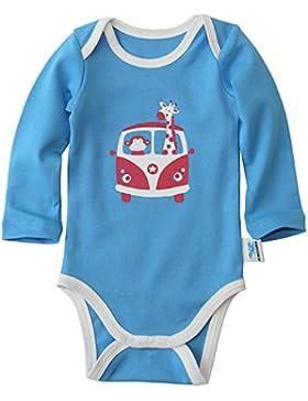 IceDrake Baby Body langarm für Mädchen und Jungen aus Bio Baumwolle - GOTS zertifiziert