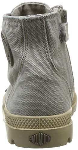 Palladium Pampa Hi Zip K, Boots mixte enfant Vert (Concrete/Putty)