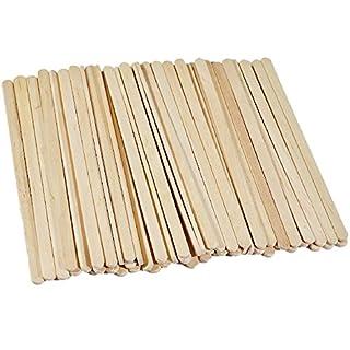 UCTOP STORE 200 Pcs 7.5'' Wood Disposable Coffee Stir Sticks Stirrers Tea Beverage Stir Stick Stirrer