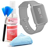 DURAGADGET Kit Limpieza para Reloj Inteligente Amazfit Bip - Limpiador + Paño De Microfibra + Brocha
