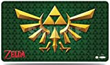 Ultra Pro 85438 - Spielmatte - The Legend of Zelda: Green Crest (Playmat with Tube)