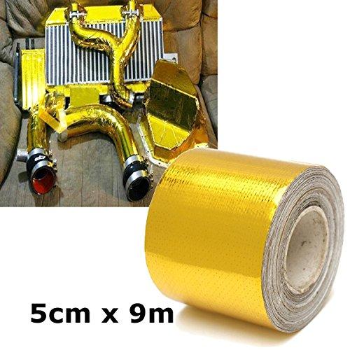 king-do-way-vetro-di-protezione-isolante-in-fibra-di-nastro-riflettente-oro-5cm-x-915m