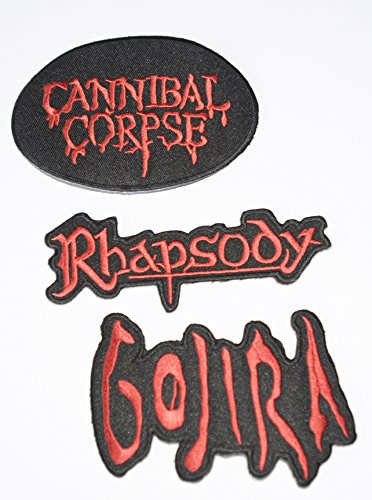 set-of-3-iron-on-patches-cannibal-corpse-gojira-rhapsody
