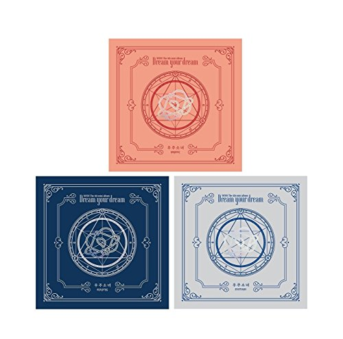 [Dream Your Dream] 4th Mini Random Ver CD+72p Booklet+1p Photocard+1p Pre-Order Gift(Bookmark) K-POP Sealed ()