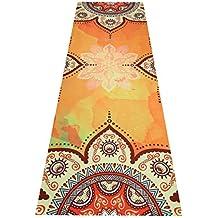 ZeroVida Yoga Towel Toalla de Yoga Toalla Antideslizante para Usar con Esterilla de Yoga Toalla Microfibra para Yoga Ashtanga Fitness Pilates, Unisex, 183cm x 63cm, con Bolsa de Transporte
