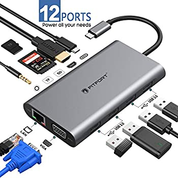 Portable Super Speed USB-C 3.1 Multiport Hub 4x USB-A 3.0 Ports for Macbook MAC