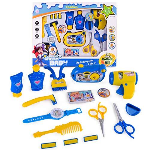 Rolanli Kosmetik Spielzeug, 16 Stück Simulation Schminkset Spielzeug Rollenspiel Spielzeug für...