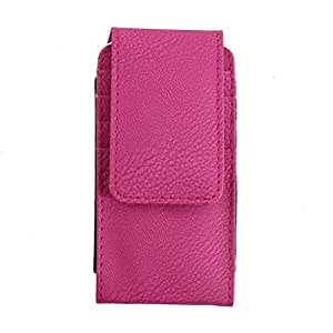 DooDa PU Leather Case Cover For Intex Aqua RING Q7N