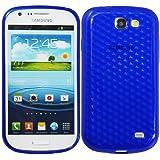 Luxburg® Housse Etui Coque Samsung Galaxy Express silicone case TPU Bleu outremer