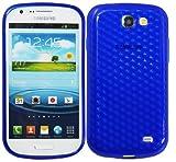 Luxburg Diamond Design funda protectora para Samsung Galaxy Express GT-i8730 en color azul marino,...
