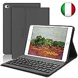 SENGBIRCH Nuova iPad Mini 5 Custodia per Tastiera, Cover Intelligente per Supporto Cavalletto...
