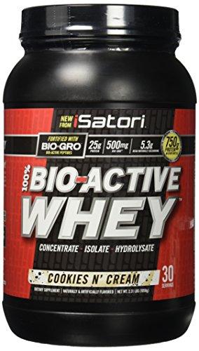 ISATORI Bio Active Whey 1,050 kg - cookies e cream - 51Q3JM9Y AL