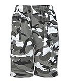 0791 Camo Grey 3-4 Y Boys Shorts & FREE GIFT Lotmart pen per parcel