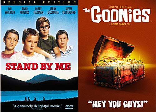 The Ultimate Coming of Age Double Feature: Stand By Me (Special Edition) & The Goonies (2 DVD Bundle)