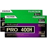 10 Rolls Fuji Pro 400H 120 Professional Couleur Film négatif Lumière du jour 400 Fujifilm Emplacement intérieur ou extérieur Exposition large Variété d'éclairage Travail commercial et de la mode