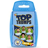 Manchester City FC 2017/18 Top Trumps Card Game
