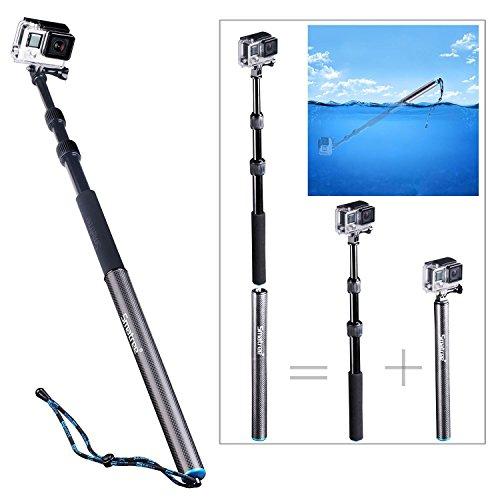 Smatree® SmaPole S3 Selfie Stick Palo Flotable Desmontable y Extensib