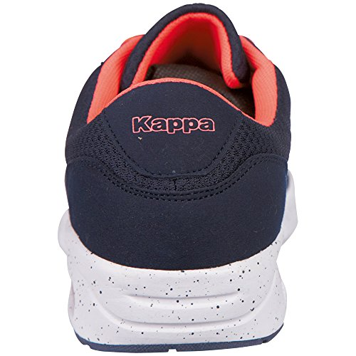 Kappa Cello, Baskets Basses Mixte Adulte Bleu - Blau (6729 Navy/Coral)