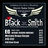 Black Smith 10-52 Jeu de Cordes pour Guitare électrique