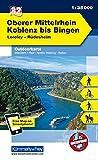 Deutschland Outdoorkarte 32 Oberer Mittelrhein, Koblenz bis Bingen 1 : 35.000: Loreley-Rüdesheim. Wanderwege, Radwanderwege, Nordic Walking, Reiten (Kümmerly+Frey Outdoorkarten Deutschland) -
