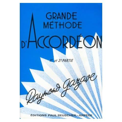Partition : Methode accordeon Gazave (1ere et 2e annee)