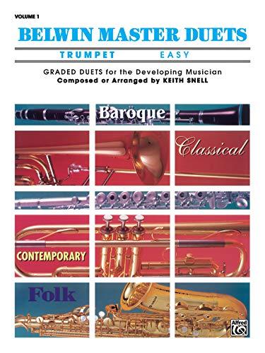 Belwin Master Duets (Trumpet), Vol 1: Easy