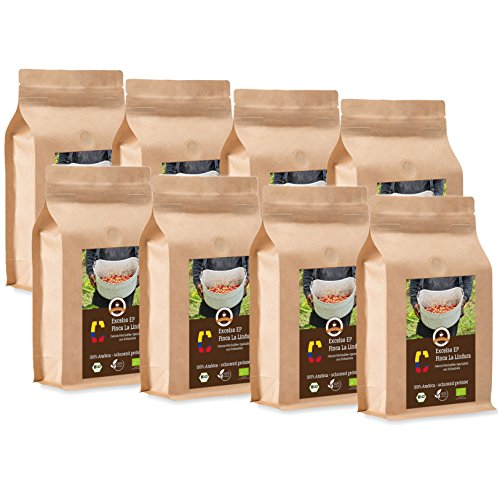 Coffee Globetrotter - Colombia Excelso EP Finca la Lindura - Organic - 8 x 1000  g 2a791354d7
