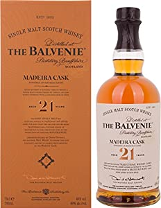 Balvenie 21 Year Old Madeira Cask Finish Single Malt Whisky from Balvenie