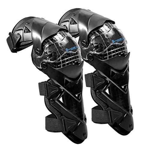 B Baosity 1 Paar Knieprotektoren Lange Schienbeinschutz Rüstungsschutz Schienbeinschoner Knieschoner Schutzausrüstung für Motorrad Fahrrad Skateboard