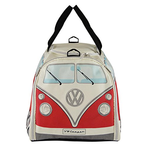 VW Collection by Brisa Sport/Bolsa de viaje, color rojo