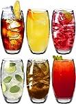 Grands verres tondo � eau / � jus de...
