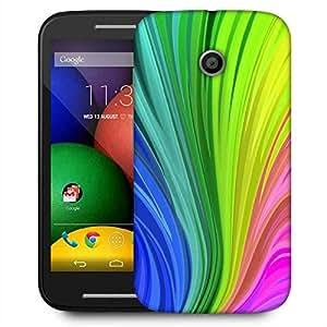 Snoogg Colourful Centric Pattern 2439 Designer Protective Phone Back Case Cover For Motorola E / Moto E