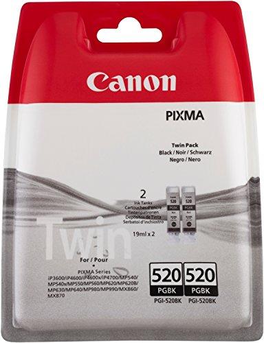 Preisvergleich Produktbild Canon PGI-520BK Schwarz Tintenpatrone–Tintenpatronen (schwarz, Pixma MX870PIXMA MX860PIXMA iP3600PIXMA MP630, Tintenstrahldrucker)
