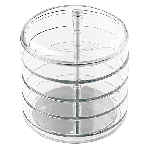 inter-design-34820eu-pivotante-contenitore-di-monili-di-4-piani-trasparente