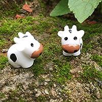 Amazon.fr : figurine vache : Jardin