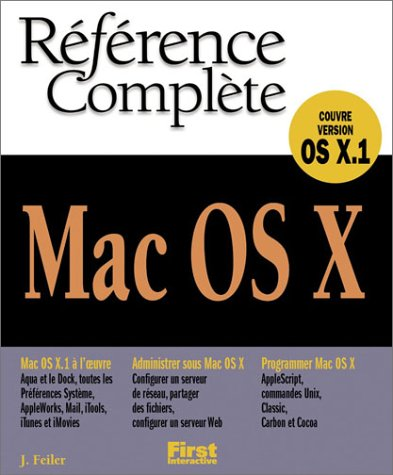 Référence complete Mac OS X