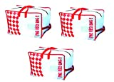 #3: Set of 3 The Red Storage Bag for Lofts and Trunks