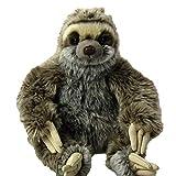 Uni-Toys Vari peluche, animaletti di pezza, pupazzetti da amare ca. 25-35 cm (Bradipo, grigio)