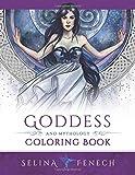 Goddess and Mythology Coloring Book: Volume 9 (Fantasy Coloring by Selina)